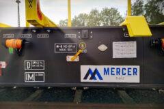 Automatische Gewichtskontrolle für das LoadMonitor System auf Mercer Holz Zugwagen (Quelle: PJM)