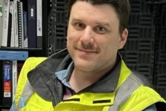 Devin Kelly, Betriebsspezialist für den Maschinenraum von Mercer Celgar, Empfänger der Pulp and Paper Canada Top 10 Under 40 2021